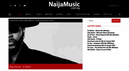 naijamusic.com.ng - naija music - download latest nigerian music & video 2018