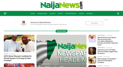 naijanews.com - nigeria news today & breaking news 24/7  naija news 8th april 2020