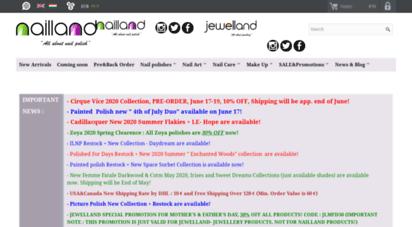 nailland.hu - home  nailland - indie nailpolish &nailart