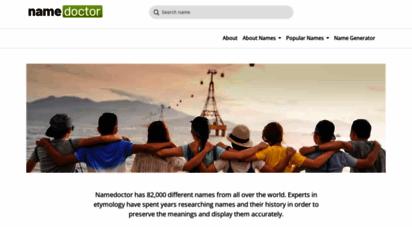 name-doctor.com - name doctor
