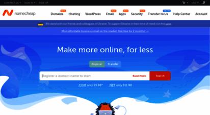 namecheap.com - buy domain name - cheap domain names from $1.37 - namecheap