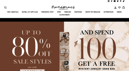 8a60a82eeeb60 Welcome to Nanamacs.com - Trendy Womens Clothing Boutique