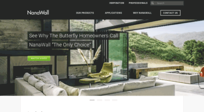 nanawall.com - innovative bifold doors and moving glss walls  nanawall