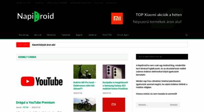 napidroid.hu - android hírek, blog és közösség - napidroid