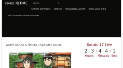 Welcome to Narutotime com - Narutotime com