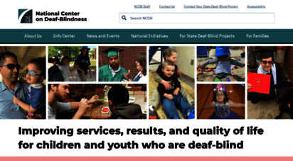 nationaldb.org - improving services, results, and quality of life for children and youth who are deaf-blind
