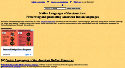 native-languages.org - native american language net: preserving and promoting indigenous american indian languages