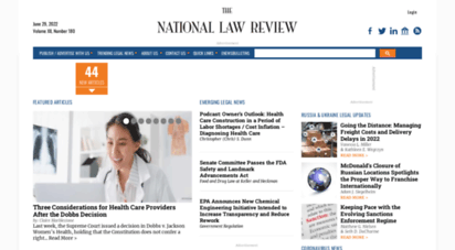 natlawreview.com - legal news & business law news  national law review