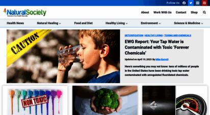 naturalsociety.com - natural society  revolutionize your health - naturally