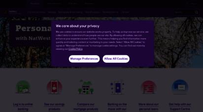 natwestinternational.com - personal banking  natwest international