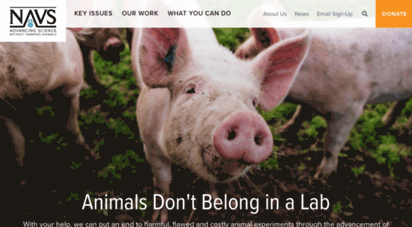 navs.org - national anti-vivisection society: www.navs.org