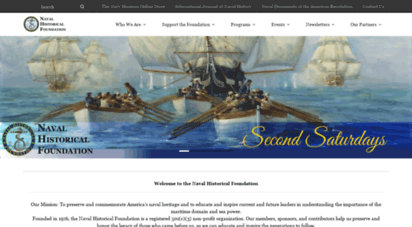 navyhistory.org - naval historical foundation  preservation, education, and commemoration of naval history