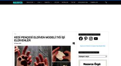 nazarca.com - nazarca.com  örgü,dantel ve oyalar