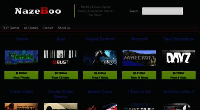 nazeboo.com - game server hosting and cd keys price comparison - nazeboo.com