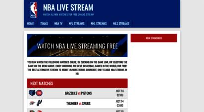 nba-stream.com - watch nba stream - nba live online