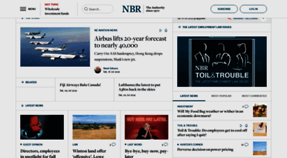 nbr.co.nz - the national business review  the national business review online is new zealand´s authority in breaking business news and anlysis.