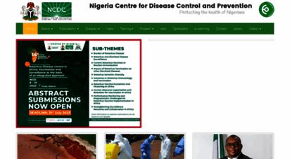 ncdc.gov.ng - nigeria centre for disease control