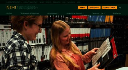 similar web sites like ndsu.edu