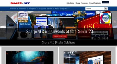 necdisplay.com - nec display solutions - lcd displays and projectors