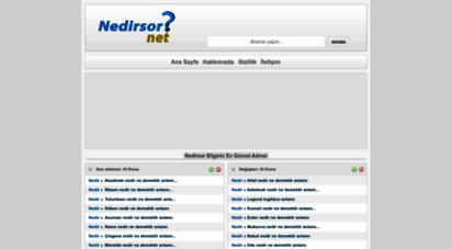 nedirsor.net - nedirsor  sözlük anlamını öğren