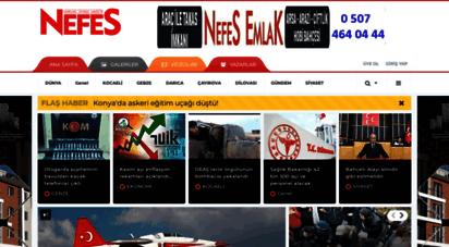 nefesgazetesi.com - nefes gazetesi - kocaeli haber - kocaeli son dakika haber
