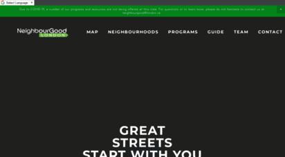 neighbourgoodlondon.ca - neighbourgood london - better neighbourhoods