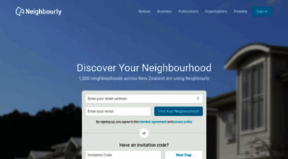 neighbourly.co.nz - neighbourly - the private and free neighbourhood website for new zealand