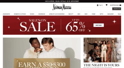 neimanmarcus.com - designer clothing, shoes, handbags, & beauty  neiman marcus