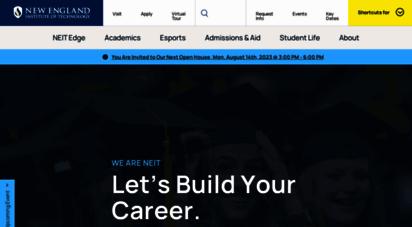 neit.edu - new england institute of technology university - neit