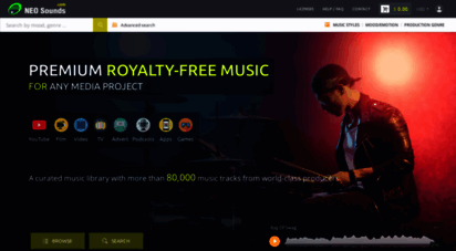 neosounds.com - neosounds: premium royalty free music for creative and media projects