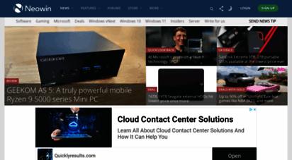 similar web sites like neowin.net