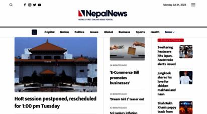 nepalnews.com - nepalnews.com - news from nepal as it happens
