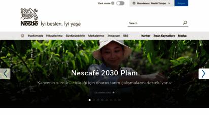 nestle.com.tr - nestlé anasayfa  iyi beslen, mutlu yaşa  nestlé türkiye
