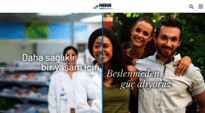 nestlehealthscience.com.tr - sağlık beslenme ile başlar  nestlé health science
