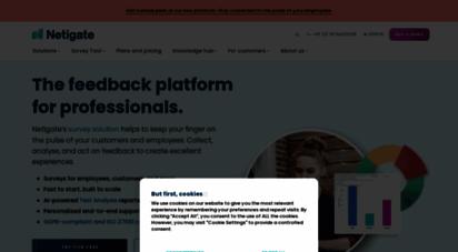 netigate.net - feedback management and online survey software  netigate