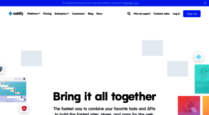 netlify.com - netlify: all-in-one platform for automating modern web projects