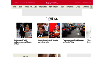 netmums.com - parenting advice and information in england, wales, scotland and northern ireland - netmums