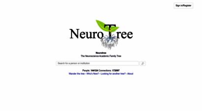 neurotree.org - neurotree