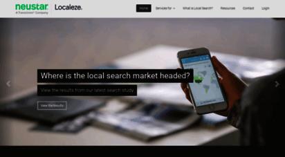 neustarlocaleze.biz - neustar localeze  the leader in local search & local listings