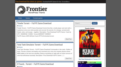 new-game-apk.com - free download the latest pc games - download full pc games for free. torrent mirror