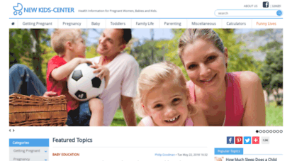 newkidscenter.com - health information for pregnant women, babies and kids. - new kids center