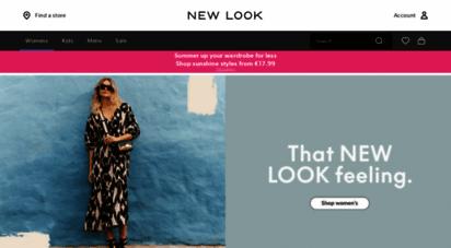 newlook.com - new look - womens, mens & teen fashion online