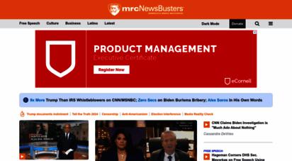 similar web sites like newsbusters.org