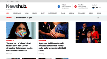 newshub.co.nz - your home for the latest and breaking news  newshub