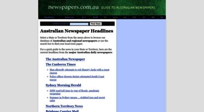 newspapers.com.au - your guide to australian newspapers  australian newspaper directory - newspapers.com.au