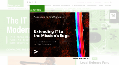 nextgov.com - federal technology news and anlysis for it managers & acquisition teams