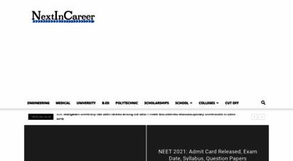 nextincareer.com - next in career - your guide for your next career step