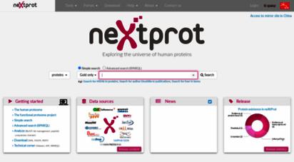 nextprot.org -