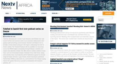 nextvafrica.com - nextv news africa - media on the nextv generation in africa