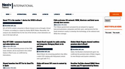 nextvnews.com - nextv news  media on the nextv generation in the world